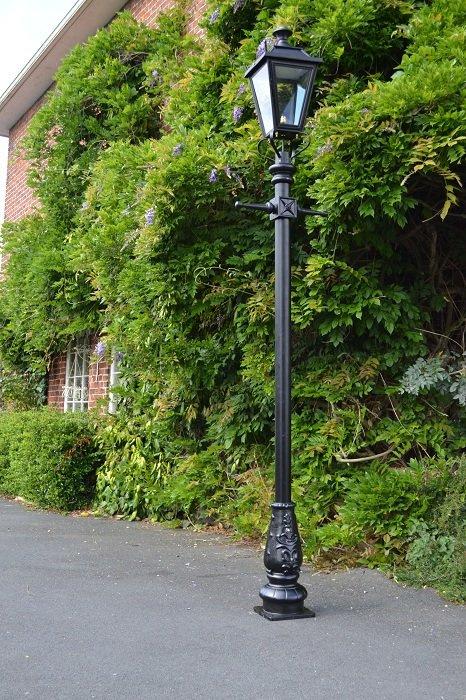Large Dorchester Lamp Post Antique Brass