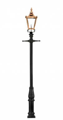 Extra Large Copper Victorian Lamp Post 3.7m