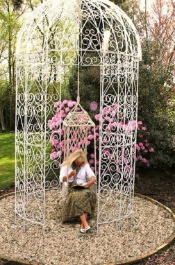 Royal Scroll Gazebo & Swing Seat