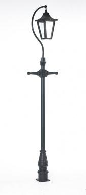 Swan Neck Lamp Post 3.4m