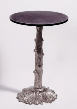 Tree design bar table with granite top