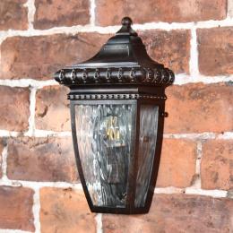 Antique Bronze Half Wall Lantern