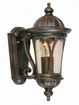 Antique Bronze Ornate Wall Lantern