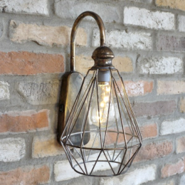 Antique Industrial Style Suspended Wall Light