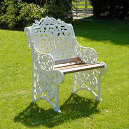 Belgravia Garden Single Seat Bench
