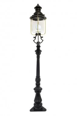 """Sandringham"" Belgravia Lantern and Fluted Lamp Post Set"