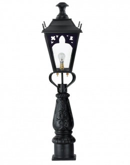 Gothic Pillar Post Light