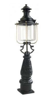 Glass Bollard Pillar Light
