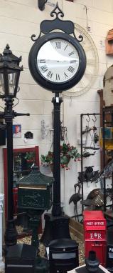 Giant Lamp Post Clock Face