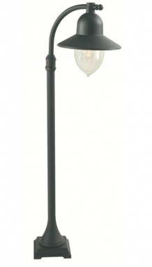 Black Nordic Style Low-Level Garden Lamp Post