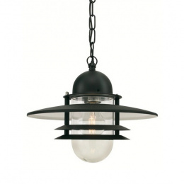 Contemporary Hanging Chain Lantern