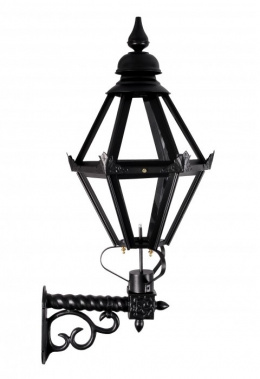 "Deluxe ""Craven"" Black Hexagon Wall Light"