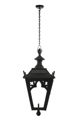 Black Gothic Style Chain Hanging Ceiling Light