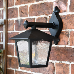 Wall Lantern In An Industrial Style