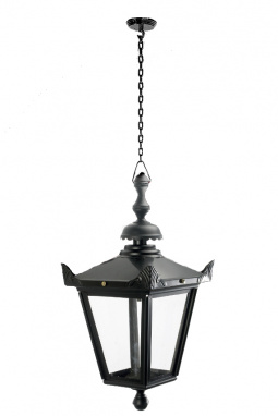 Black Chain Hanging Victorian Ceiling Lantern
