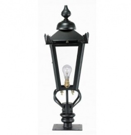 black victorian post lighting for railways