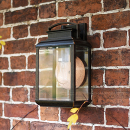 Antique Bronze Period Exterior Wall Light