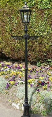 The Chevalier Crowned Victorian Lamp Post