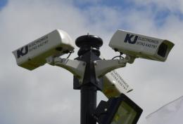 Tri-Adapter Triple CCTV Camera Bracket