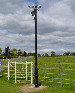 Tubular CCTV Camera Poles and Columns