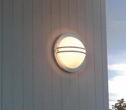 """Westford"" Circular Contemporary Port Hole Style Wall Light"