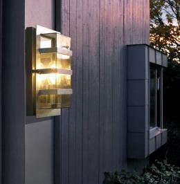 Modern Rectangular Wall light with Clear Lens
