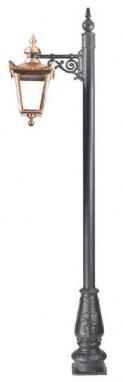 Copper Top Fix Victorian Lamp Post
