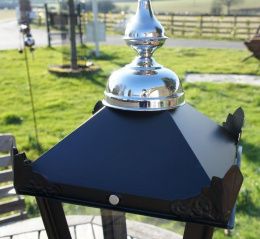 Customized chrome lantern spinnings