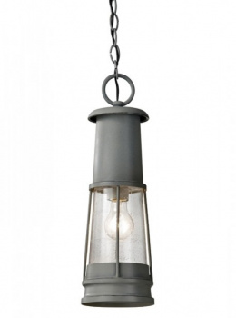 Distressed Grey Coastal Chain Hanging Light
