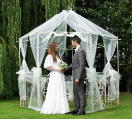 dutchess gazebo for wedding hire