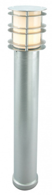 Galvanised Steel Contemporary Bollard Light