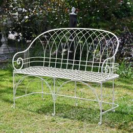 The Arch Wrought Iron Garden Bench