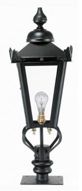 golf course field black lantern