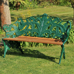 Green 3 Seater Rochester Garden Bench