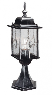 Hand Leaded Victorian Style Pillar Light