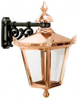 Hanging Pub Wall Lantern in Copper