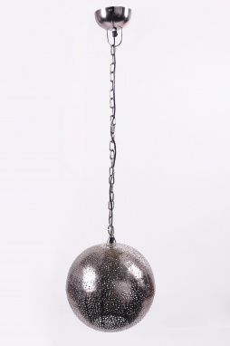 Hanging silver pendant restaurant lighting