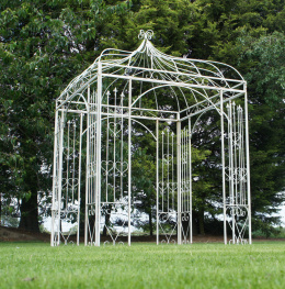 Heavy Duty gazebo in garden