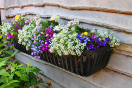 Rural Hay Trough Flower Planter