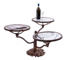 3 tier unusual inn and bar side table