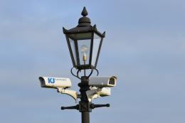 Lamp Post Bullet Camera Pole 3.25