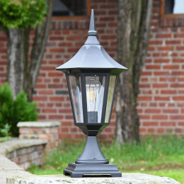 Large Traditional Hexagonal Pillar Light