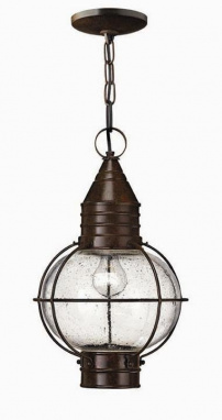 Vintage Miners Inspired Chain Lantern