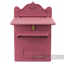 Pink Cambourne Secure Parcel Box Wall Mount