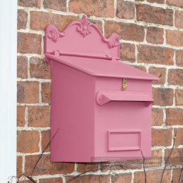 Pink Cambourne Secure Parcel Box