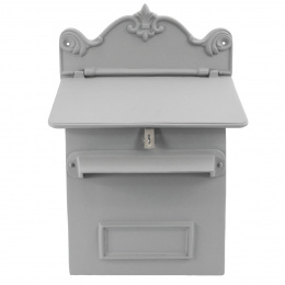 Light Grey Cambourne Secure Parcel Box Wall Mount