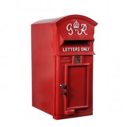 Red 'George Rex' Post Box