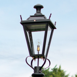 Medium Black Dorchester Lantern