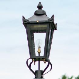 70cm Black Victorian Lantern