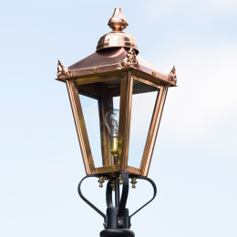 Medium Copper Victorian Lantern